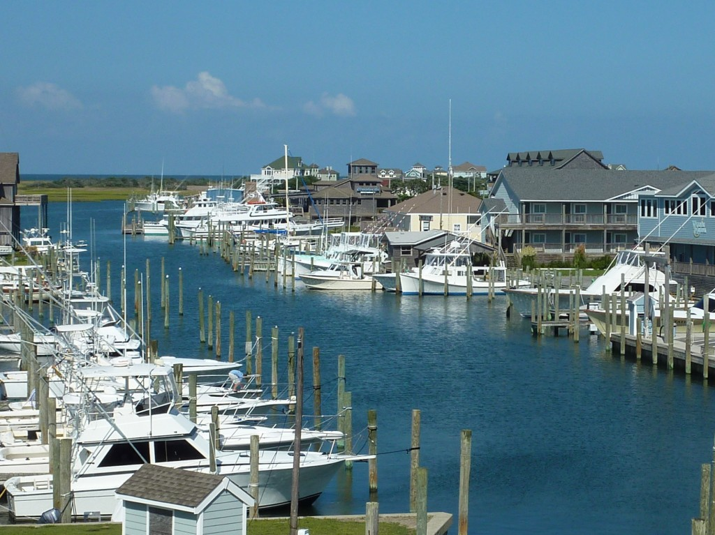 Hatteras Harbor Marina View - Version 2