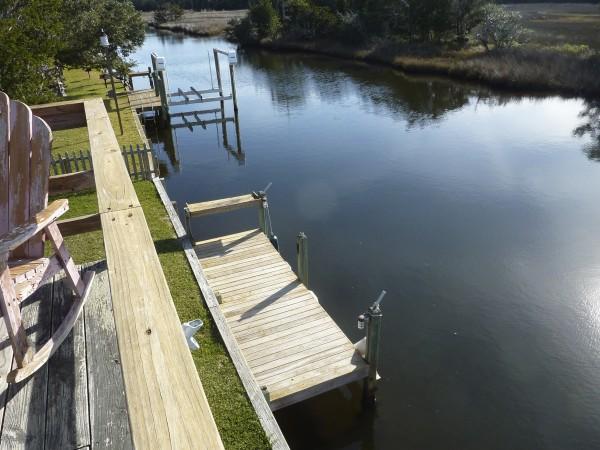 Dock and Salt Marsh