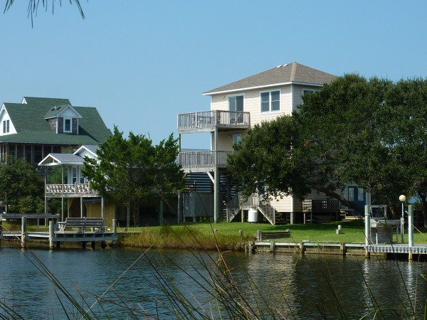 Homes On Hatteras Real Estate Sales Waterfront Home