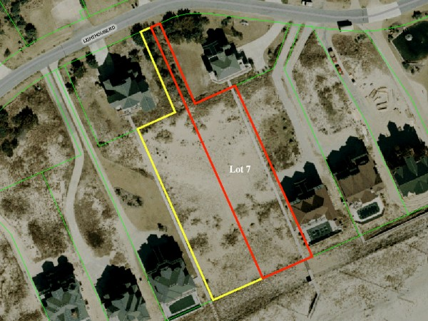 Lot 7 Tax Map View